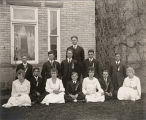 Eighth Grade Graduation picture, 1914