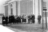Tree Planting Ceremony at the Springville Seminary Building