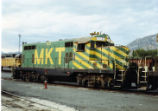 Former MKT GP-9 sitting in Provo, Utah.