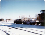 Denver and Rio Grande Western Flangers at the Alamosa yards.