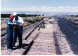 Carbon County Railway at Columbia Junction, where junction rail was removed. Joel D. Thompson and...