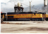 Union Pacific No. 4586 at Provo, Utah.
