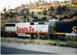 Santa Fe Railroad Cabless GP-60B.