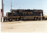Denver and Rio Grande Western GP-40 at Tucson, Arizona