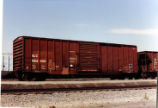 San Luis Central hopper car, Pocatello, Idaho.