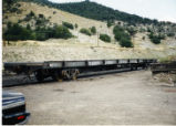 Denver and Rio Grande Western intermodal trailer flatcar