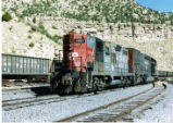Southern Pacific locomotives at Martin, Utah
