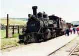 Former Denver and Rio Grande Western K-27 No. 463