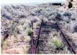 Carbon County Railway at the Horse Canyon switches.