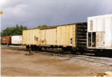 San Luis Central hopper car on the Montana Rail Link.