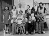 Ivern and Martha Pyne Family, 1938