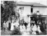 Otis Lysander Terry Family at their home at 800 E. 800 S., Orem