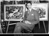 Farrer Junior High hosts Floyd Cornaby, painter
