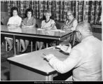 Utah State Hospital, Dr. Johnson Meets with Volunteers