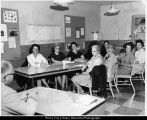 Utah State Hospital, Dr. Johnson Meets with Volunteers - 2