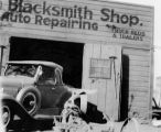 Blacksmith and Auto Repair Shop