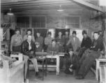 Welding Class at Central Utah Vocational School, 1941, held at Orem Lincoln High School, John I....