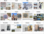 Utah Council of Land Surveyors Calendar, twelve picture preview