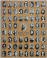 Fillmore's Pioneer Choir, 1864-1906, collage of photos.