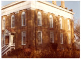Territorial Statehouse museum, color, looking northwest