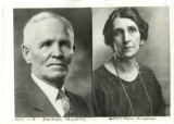 Ira Noble and Lillian King Hinckley