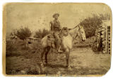 John King on Horseback