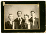 Bert Ashman, Alonzo Huntsman, Clinton Ray, Unidentified Warner
