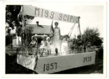 Miss Scipio Parade Float, 1935.