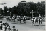 Horse riders in parade, Fillmore's Utah Centennial Celebration, 1847-1947