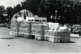 Nephi City float in parade, Fillmore's Utah Centennial Celebration, 1847-1947