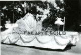 'Fine Arts Guild' float, Fillmore's Utah Centennial Celebration, 1847-1947