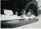 East Millard float in parade, Fillmore's Utah Centennial Celebration, 1847-1947