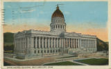 Postcard of Utah State Capitol Building in Salt Lake City, Utah.