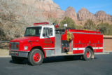 Rockville/ Springdale Fire Department's 1993 Freightliner/3D 1500/900 Top Mount Fire Engine.