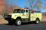 Ivins's 1999 Brush fire truck.