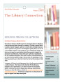 The Library Connection: A Newsletter for UVU Faculty, 2011 Fall