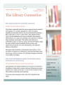 The Library Connection: A Newsletter for UVU Faculty, 2010 Spring