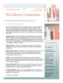 The Library Connection: A Newsletter for UVU Faculty, 2009 Spring