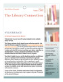 The Library Connection: A Newsletter for UVU Faculty, 2012 Fall