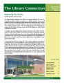 The Library Connection:  A Newsletter for UVU Faculty, 2014 March, Volume 12, Issue  4