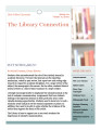 The Library Connection: A Newsletter for UVU Faculty, 2012 Spring, Volume 10 Issue 2