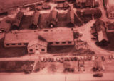 Aerial view of Fairgrounds Campus 1944