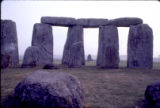 "British Isles - England - The Stonehenge alignment view of the ""heel"" stone"