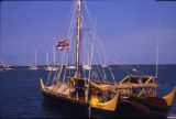 Hawaii - Star Navigators - The Makali'i: traditional Hawaiian boat