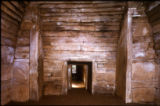 British Isles - Scotland - Maeshowe corridor interior view