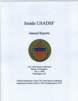Inside USADSF Annual Reports 2000
