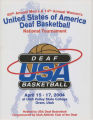USA Deaf Basketball Tournament 2004