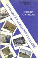 1987-1988 Utah Valley Community College Course Catalog