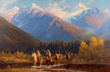 Nez Perce Hunting Party
