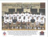 Deaflympic Men's Basketball Training Camp, 2005